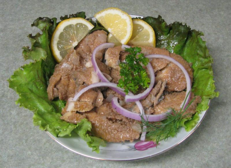 Fried Herring Fillets