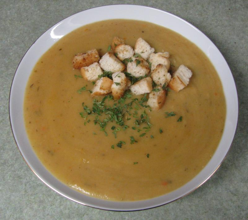 Golden Potato Soup