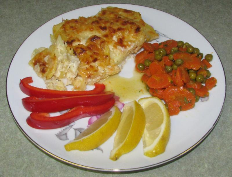 Potato Crusted Haddock Fillet